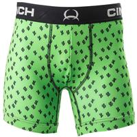Cinch Men's Green Cactus Print 6