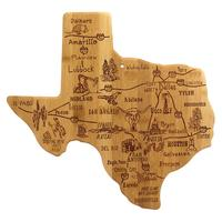Texas Destinations Cutting Board