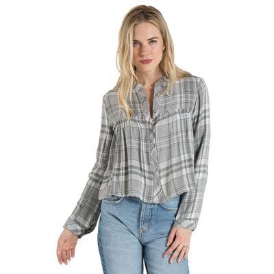 Bella Dahl Women's Ruffle Button Down Shirt