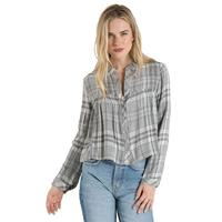 Bella Dahl Women's Ruffle Button Down Shirt