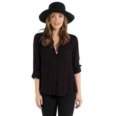 Bella Dahl Women's Two Pocket Button Down Shirt