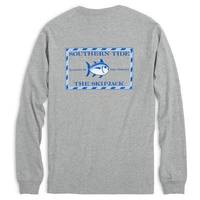 Southern Tide Men's Long Sleeve Heathered Original Skipjack T-Shirt