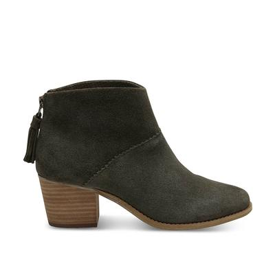 TOMS Women's Forest Suede Leila Ankle Boots