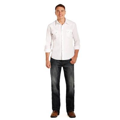 Rock & Roll Denim Men's Copper Stitch Double Barrel Jeans