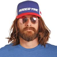 Rock & Roll Denim Men's Dale Brisby Rodeo Time Trucker Cap