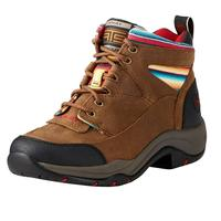 Ariat Women's Terrain Walnut And Serape Stripe Hiking Boot