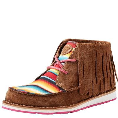 Ariat Women's Serape Stripe Fringe Cruiser