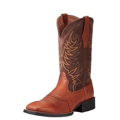Ariat Men's Sport Sidewinder Golden And Brown Boot