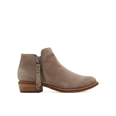 Dolce Vita Women's Sevi Perforated Ankle Boot TAUPE