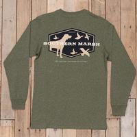 Southern Marsh Men's Hunting Dog Shirt