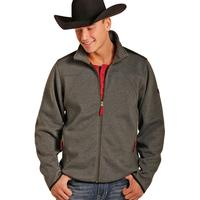 Panhandle Slim Men's Performance Full Zip Heather Fleece Jacket