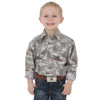 Wrangler Boy's Checotah Long Sleeve Shirt