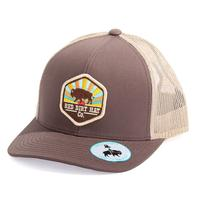 Red Dirt Hat Co.'s Sunset Buffalo Cap