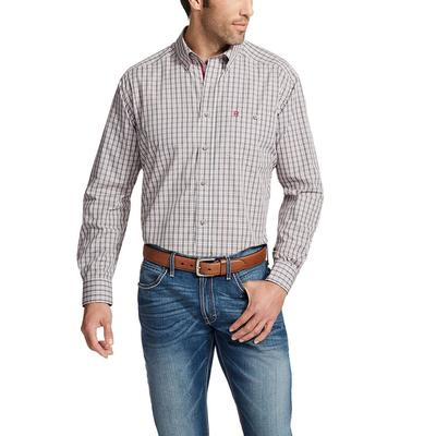 Ariat Men's Relentless Plaid Fortitude Performance Shirt