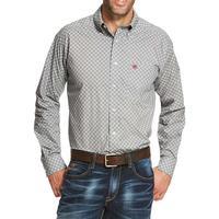 Ariat Men's Casual Series Simms Print Shirt