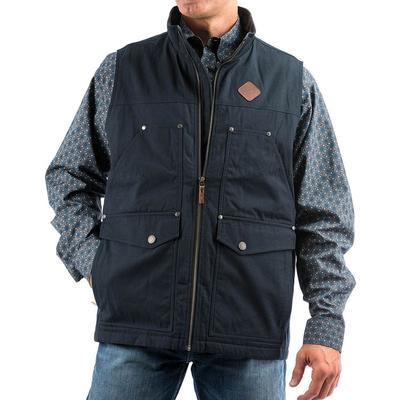 Cinch Men's Canvas Concealed Carry Vest