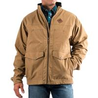 Ariat Men's Tan Canvas Concealed Carry Jacket
