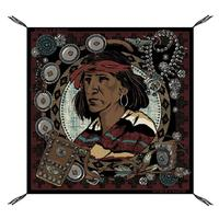 Double D Ranchwear Women's Portrait Of Trader Joe Scarf