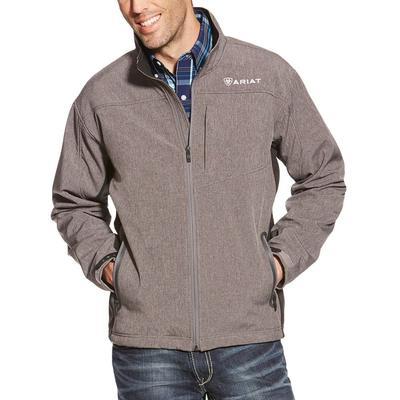 Ariat Men's Charcoal Vernon Softshell Jacket
