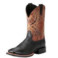 Ariat Men's Black And Tan Arena Rebound Boots