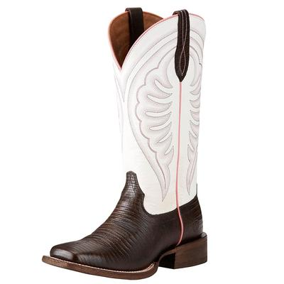 Ariat Women's Chocolate And White Circuit Shiloh Boots