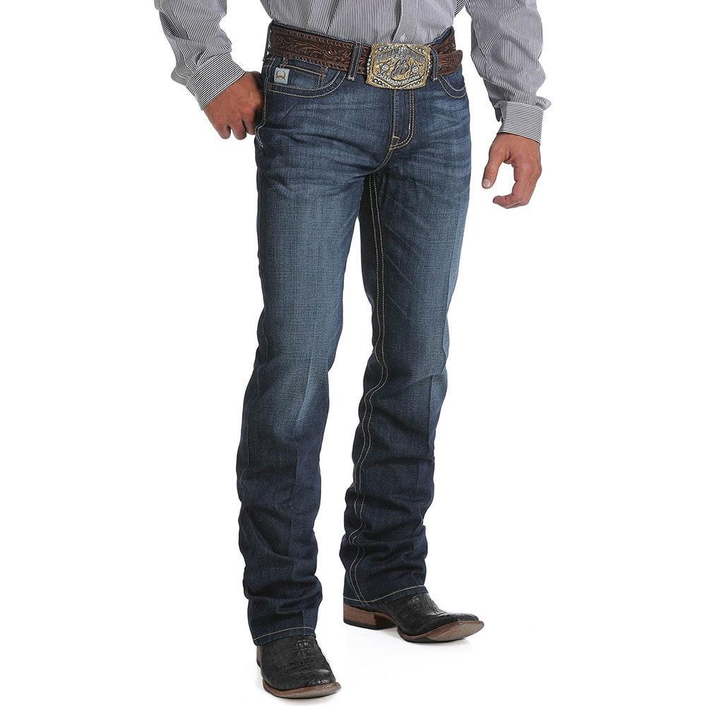 88e5141b Cinch Men's Dark Slim Fit Ian Jean