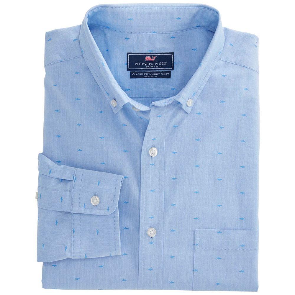 2bb5a5d77c Vineyard Vines Men s Fish Jacquard Murray Shirt
