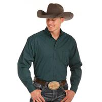 Panhandle Slim Men's Turquoise Tuf Copper Shirt