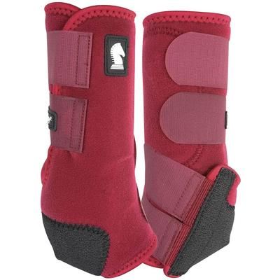 Classic Equine Legacy System Hind Boots MERLOT