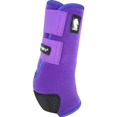 Classic Equine Legacy System Hind Boots PURPLE