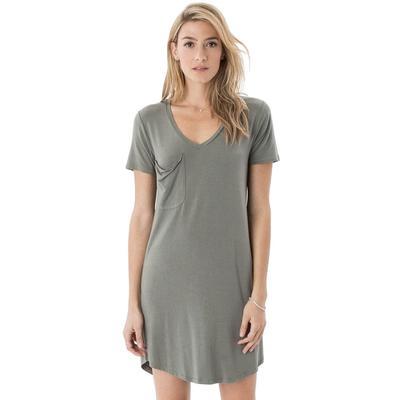 Z Supply Women's Premium Sleek Jersey Pocket Dress