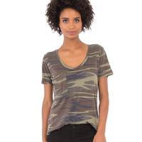 Z Supply Women's Camo Pocket T-Shirt