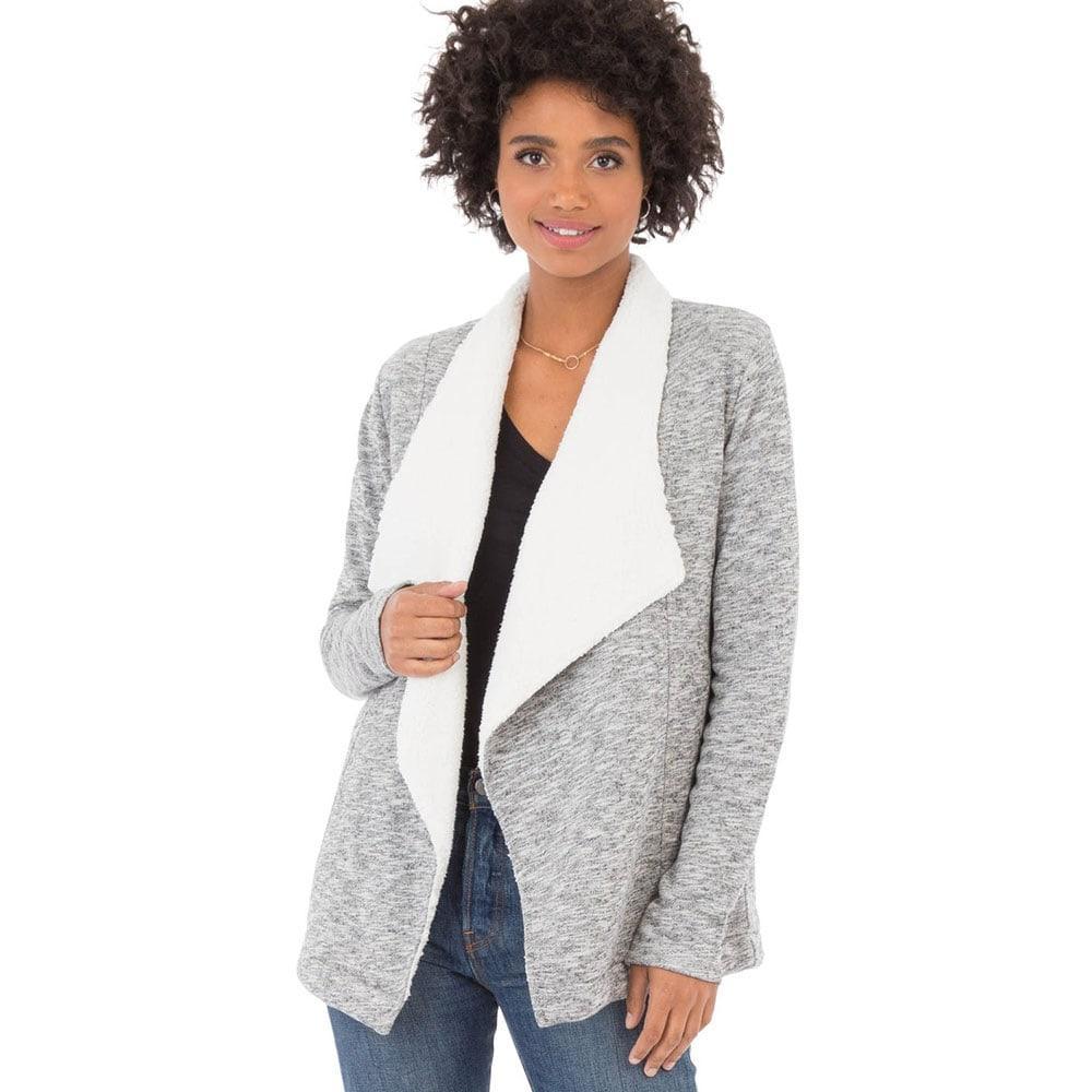 c6216a5d355 Z Supply Women s Sherpa Sweater Cardigan Item   ZJ174181