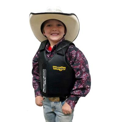 Mutton Bustin Faux Leather Protective Vest from Saddle Barn, Inc.