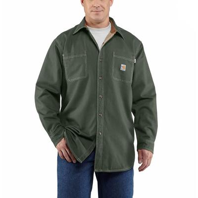 Carhartt Men's FR Canvas Shirt Jacket