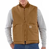 Carhartt Men's Arctic-Quilt Lined Duck Vest