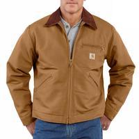 Carhartt Men's Blanket Lined Duck Detroit Jacket