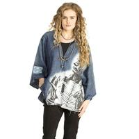 Double D Ranchwear Women's Story Of Lone Feather Poncho