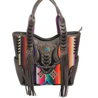 Women's Serape Concho Concealed Gun Handbag