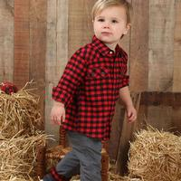 Wrangler Boy's Plaid Shirt