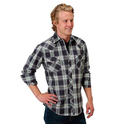 c2740f0e Roper Men's Backyard Plaid Snap Shirt