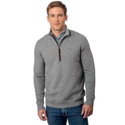 Southern Tide Men's 1/4 Zip Sundown Quilted Pullover Sweater