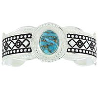 Montana Silversmiths's Phases Of The World Cuff Bracelet