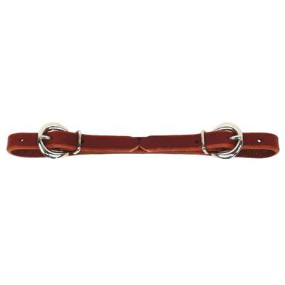 Schutz Brothers Double Buckle Latigo Leather Curb Strap