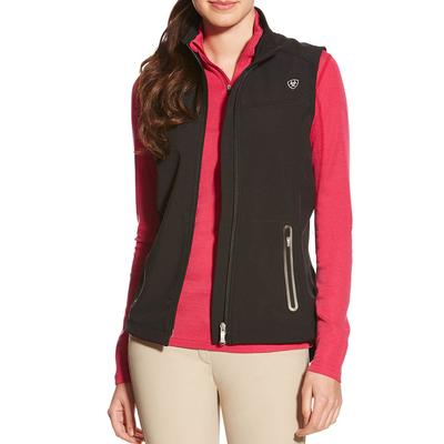 Ariat Women's Vivid Black Softshell Vest