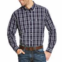 Ariat Men's Wrinkle Free Zandow Print Shirt