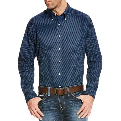 Ariat Men's Wrinkle Free Zerwood Print Shirt
