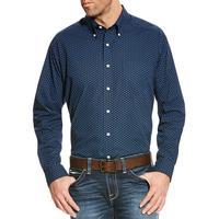 Ariat Men's Wrinkle Free Zerwood Print Shirt