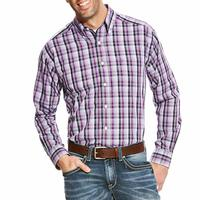Ariat Men's Wrinkle Free Zelman Print Shirt