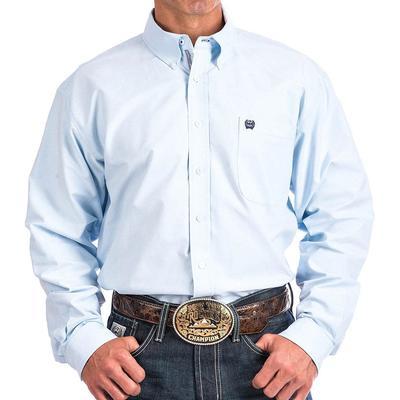 Cinch Men's Light Blue Oxford Shirt